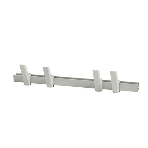 Hay Beam coat rack, light grey, 60 cm