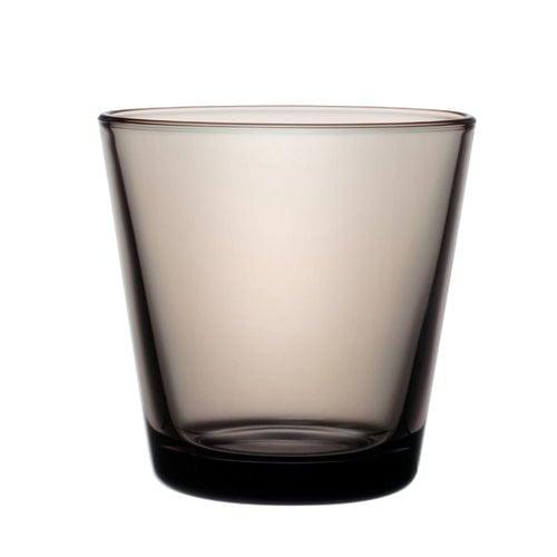 Iittala Kartio juomalasi 21 cl, hiekanv�rinen, 2 kpl