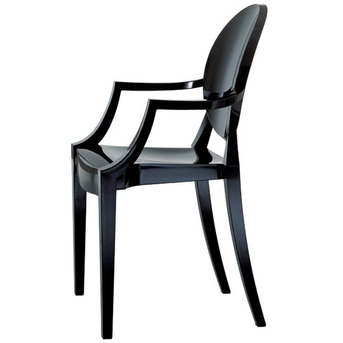 Kartell Louis Ghost chair, black