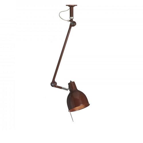 �rsj� PJ52 ceiling lamp, oxide red