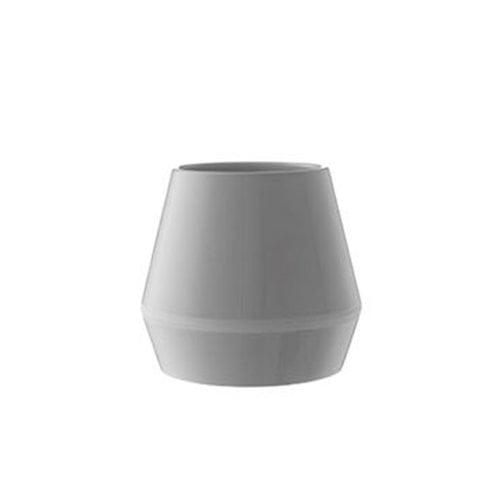 By Lassen Rimm vase, short, cool grey