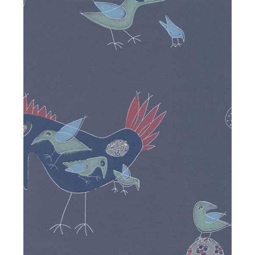 Pihlgren ja Ritola Fenix-lintu wallpaper, blue grey