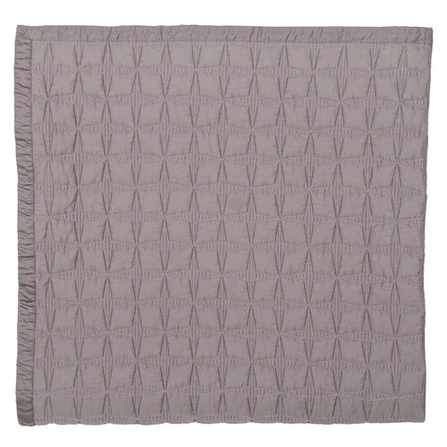 Matri Tuike bed cover, dark grey