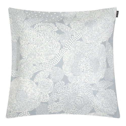 Marimekko Mynsteri cushion cover 45 x 45 cm, grey - white