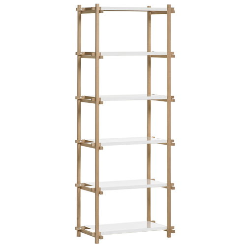 Hay Woody column shelf high, white