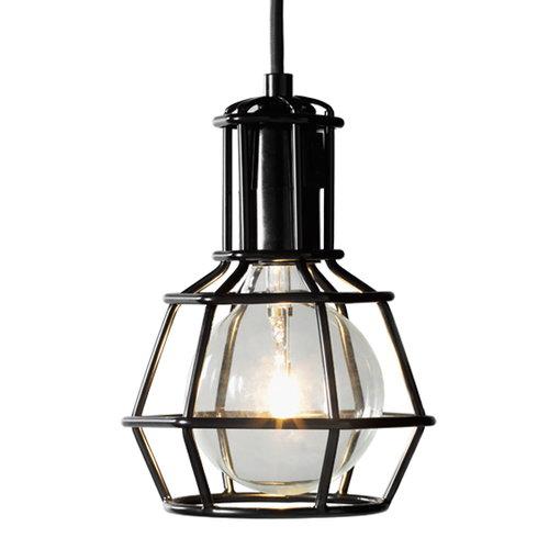Design House Stockholm Work Lamp valaisin, musta