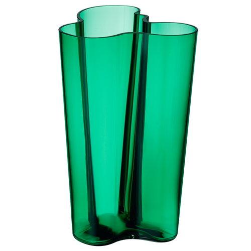 Iittala Aalto maljakko 251 mm, smaragdi