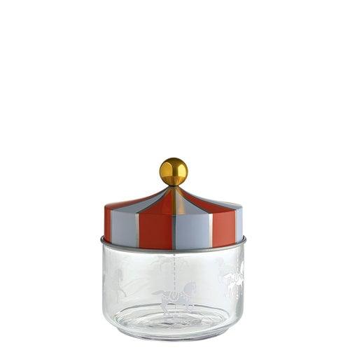 Alessi Circus glass jar, 0,5 L