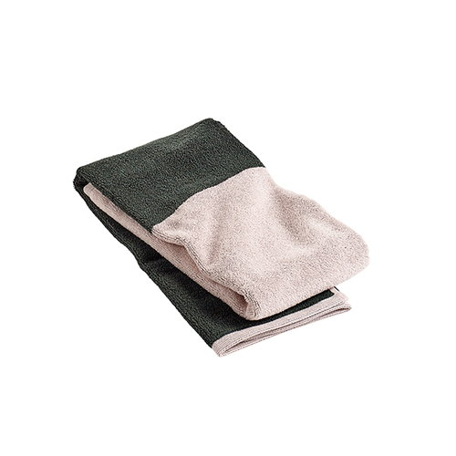 Hay Compose guest towel, green