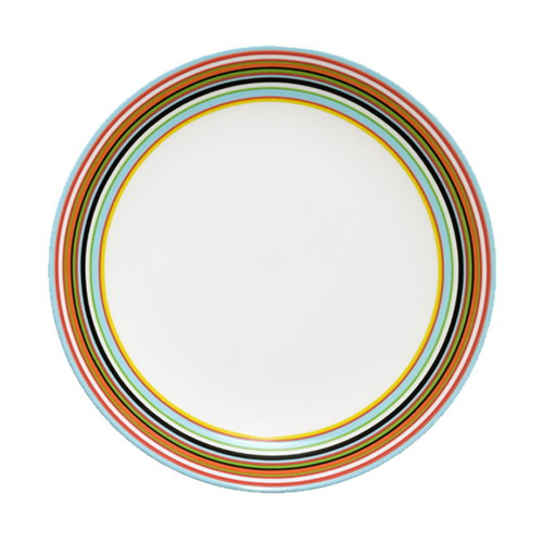Iittala Origo plate, orange 26 cm