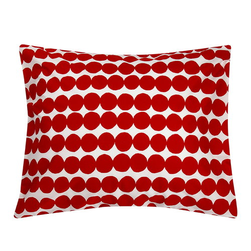 Marimekko R�symatto pillowcase, red-white