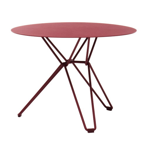 Massproductions Tio table small, wine red