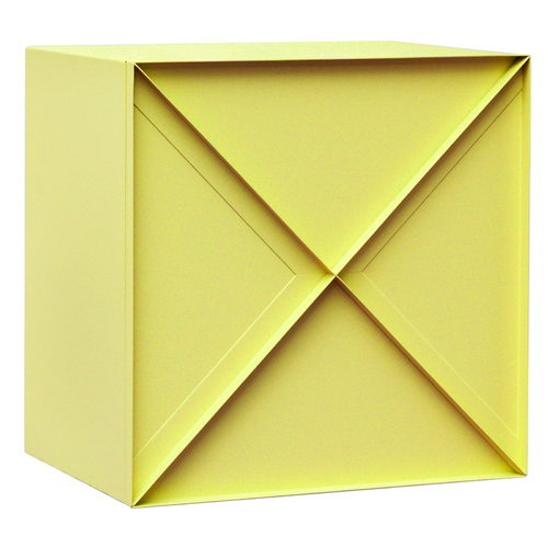 NakNak Super Narrow Square cabinet, yellow
