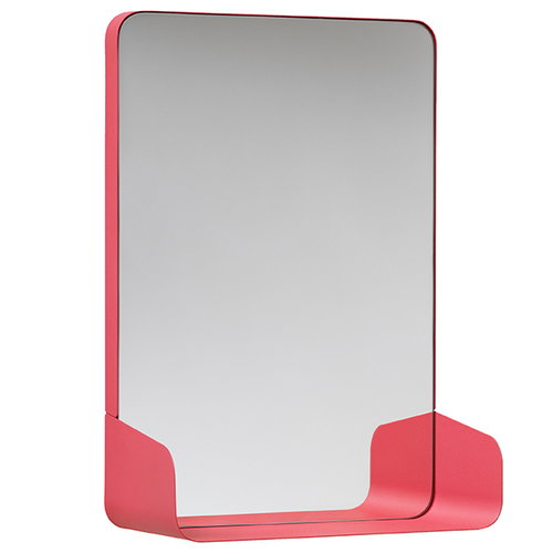 NakNak Shelf mirror, red