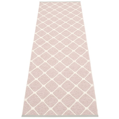 Pappelina Rex rug, 70 x 240 cm, pale rose