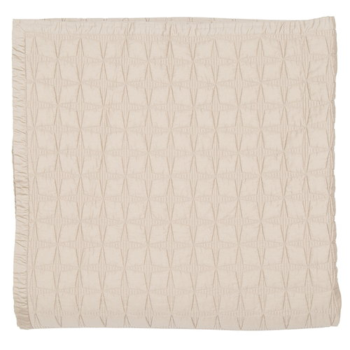 Matri Tuike double bed cover 260 x 260 cm, sand