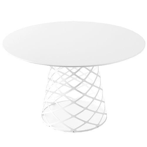 Gubi Aoyama ruokapöytä, 120cm, valkoinen laminaatti