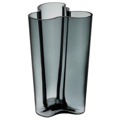 Iittala Aalto vase 251 mm, dark grey