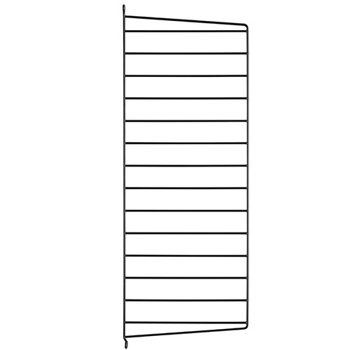 String String side panel 75 x 30 cm, 1-pack, black