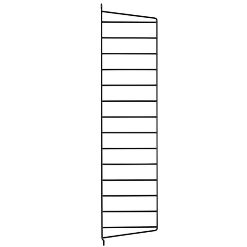 String String side panels 75 x 20 cm, 2-pack, black