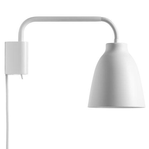 Lightyears Caravaggio Read wall lamp, matt white