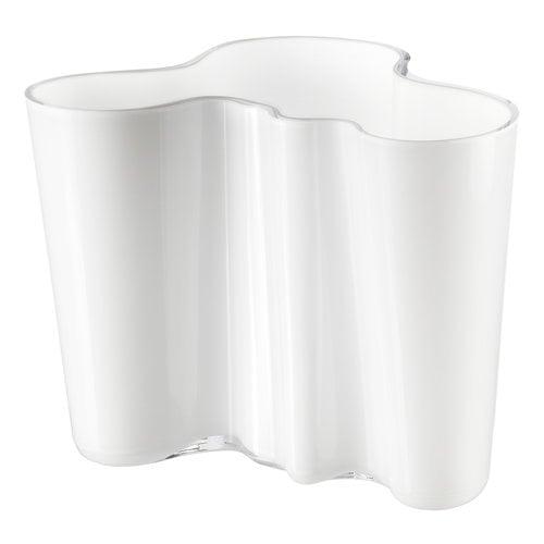 Iittala Vaso Aalto 160 mm, bianco