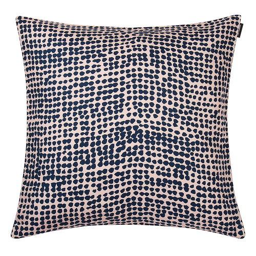 Marimekko Orkanen tyynynp��llinen 40x40 cm, vaaleanpunainen-tummansininen