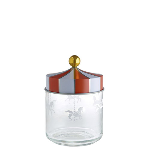 Alessi Circus glass jar, 0,75 L