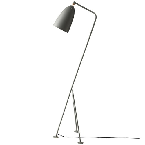 Gubi Gr�shoppa floor lamp, blue grey