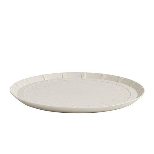 Hay Paper porcelain lautanen, pieni, vaaleanharmaa