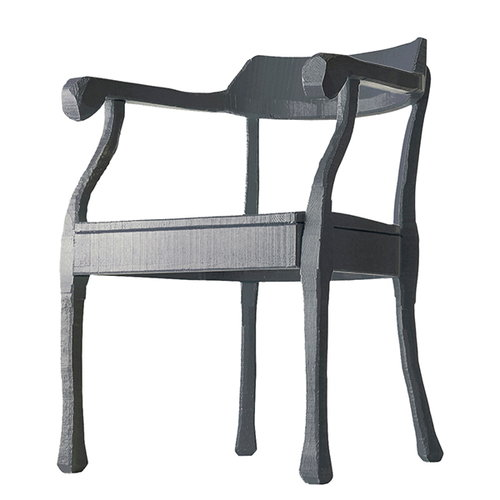 Muuto Raw tuoli, harmaa