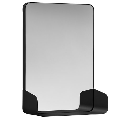 NakNak Shelf mirror, black