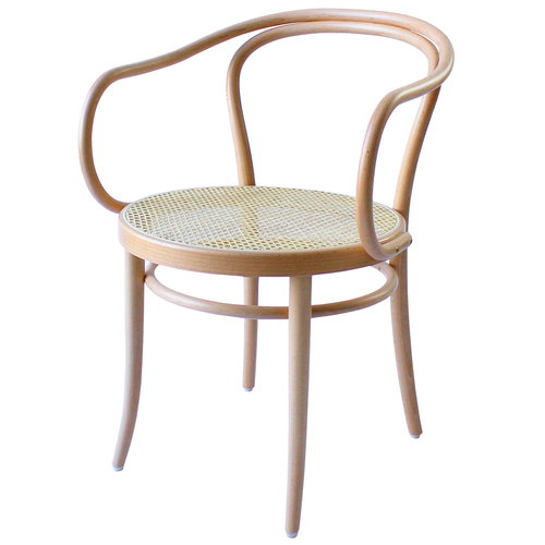 TON Armchair 30 tuoli, rottinki - pyökki