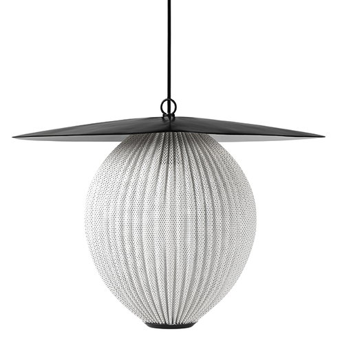 Gubi Satellite pendant, medium, white
