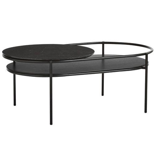 Woud Verde pöytä, musta marmori
