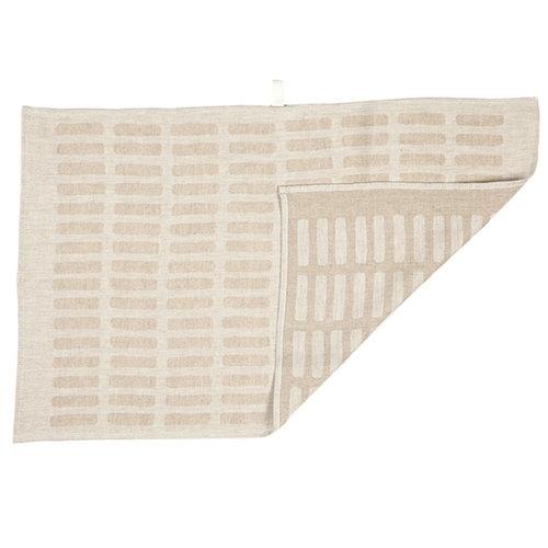 Artek Siena tea towel 2pcs, white-natural