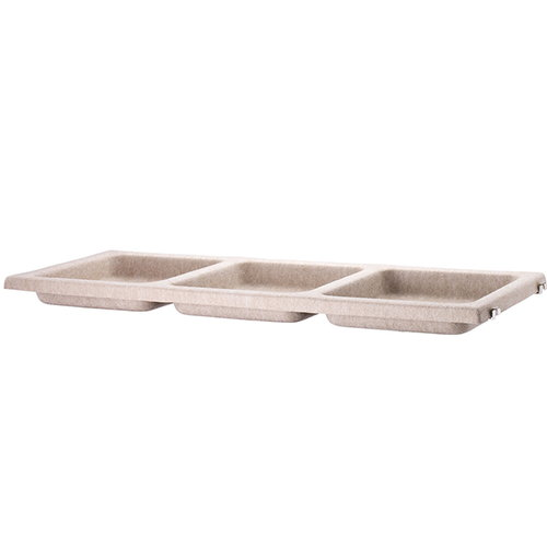 String String bowl shelf, felt, beige
