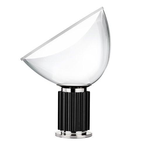 Flos Lampada da tavolo Taccia, piccola, nera