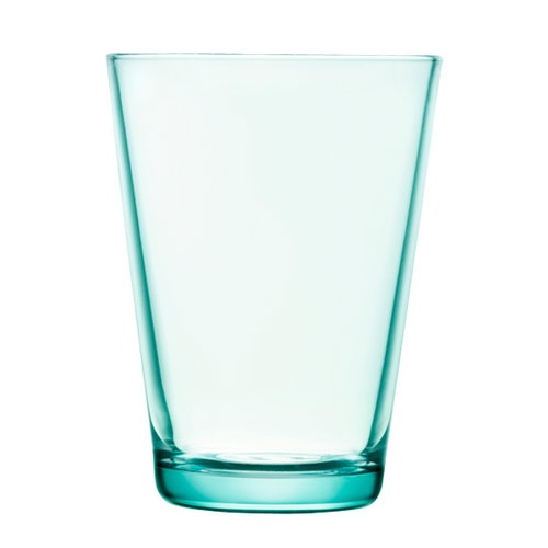 Iittala Kartio tumbler 40 cl, water green, set of 2