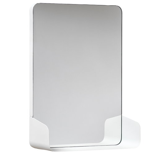 NakNak Shelf mirror, white