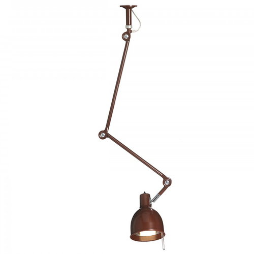 �rsj� PJ50 ceiling lamp, oxide red