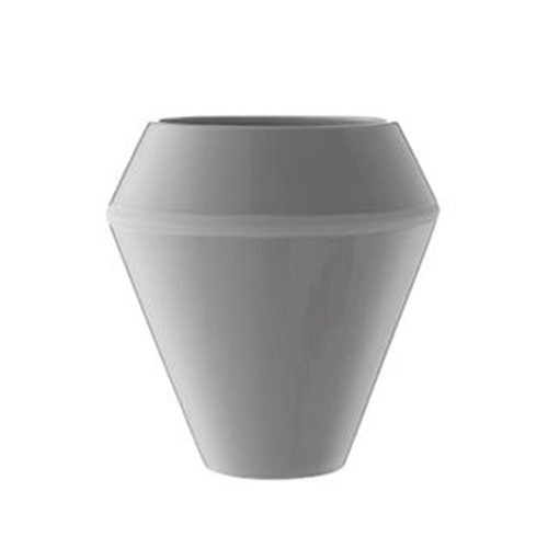 By Lassen Rimm vase, tall, cool grey