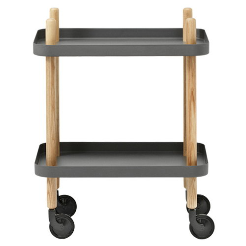 Normann Copenhagen Block trolley, dark grey