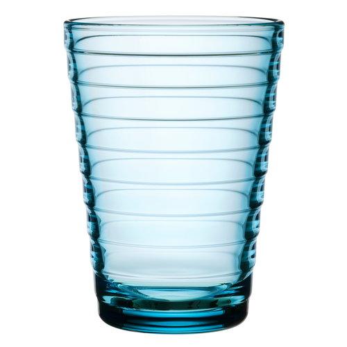 Iittala Aino Aalto tumbler 33 cl, light blue, set of 2