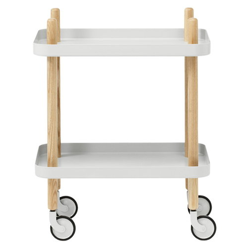 Normann Copenhagen Block trolley, light grey