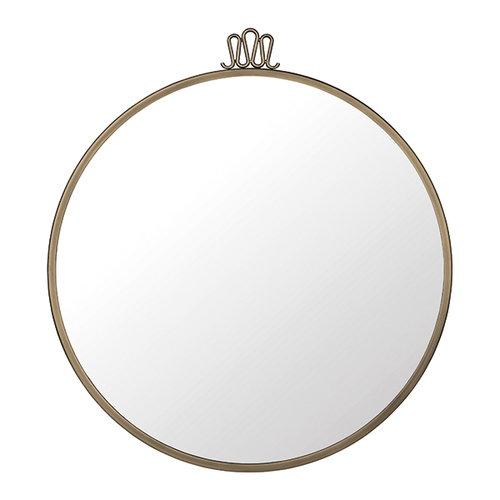 Gubi Randaccio Circular mirror, 60 cm