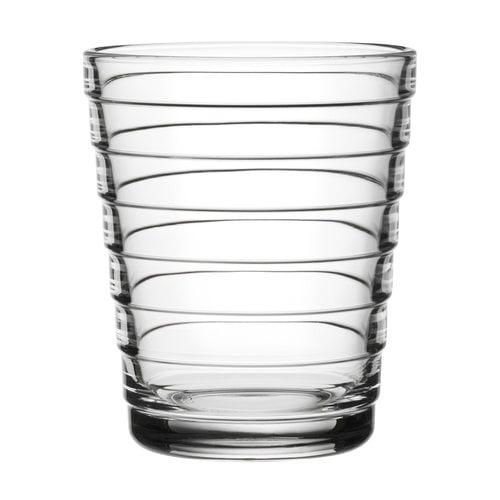 Iittala Bicchiere Aino Aalto 22 cl, trasparente, 2 pz