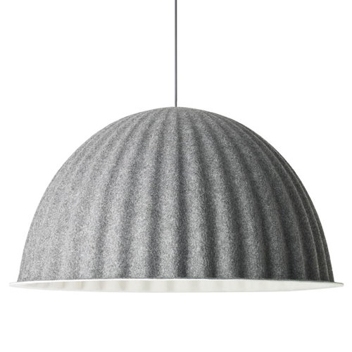 Muuto Lampada Under the Bell 82 cm, grigia