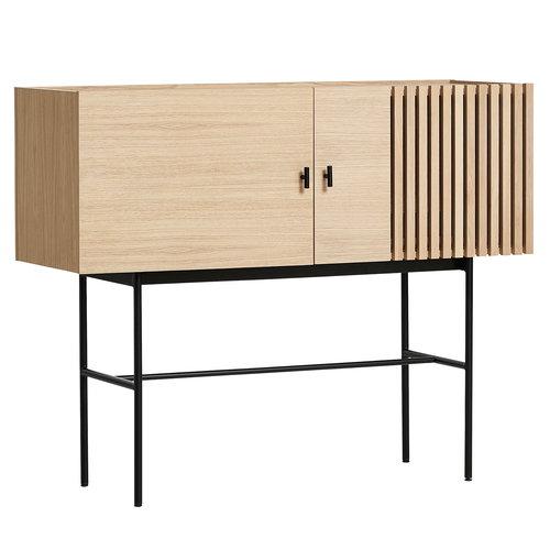 woud array sideboard 120 cm oak finnish design shop. Black Bedroom Furniture Sets. Home Design Ideas