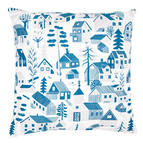 Kauniste M�kkil� cushion cover, blue